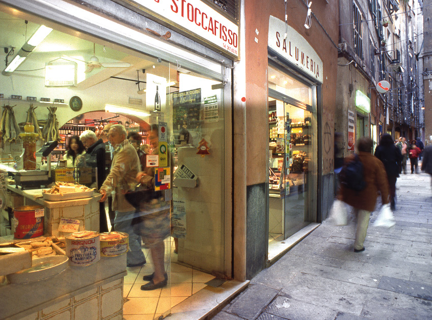 small shops in Genoa